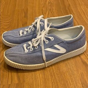 Tretorn Chambray Eco Ortholite Shoes Size 6
